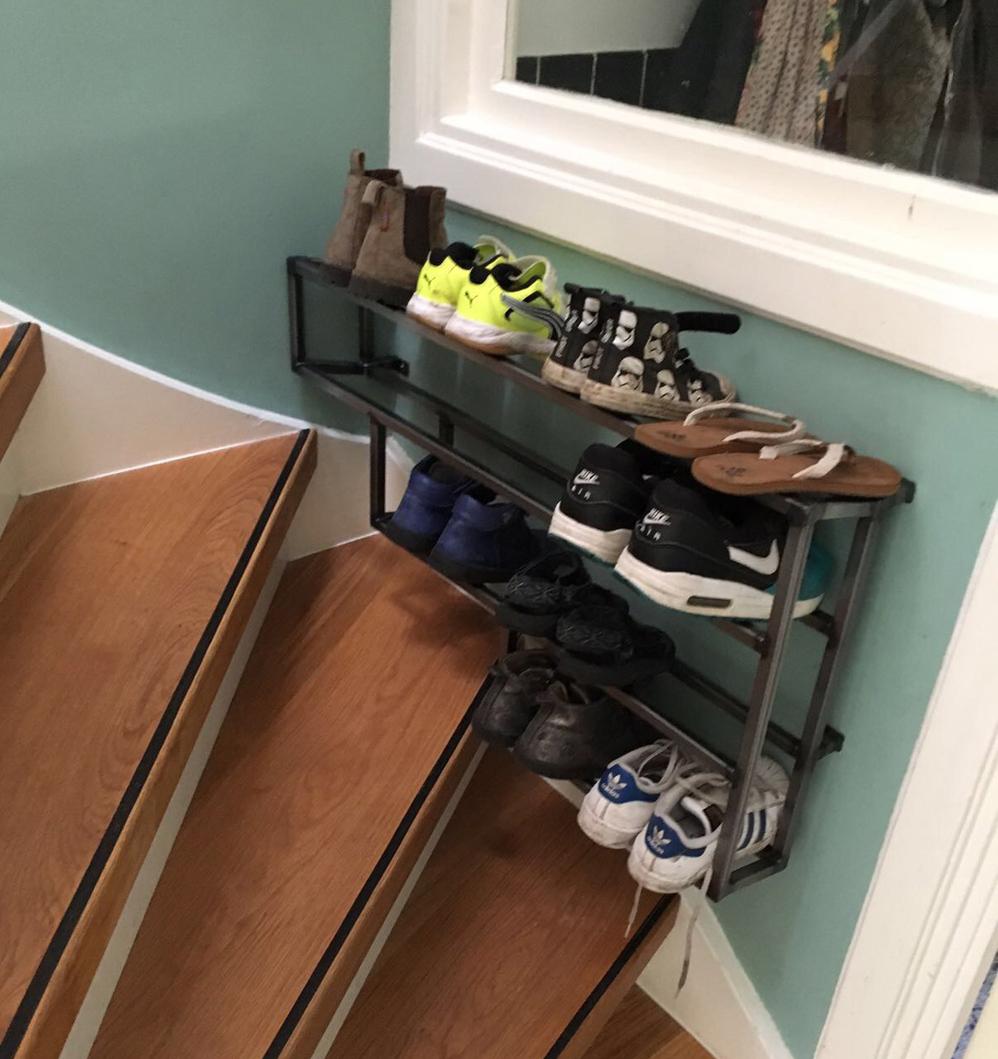 Schoenen opbergrekje